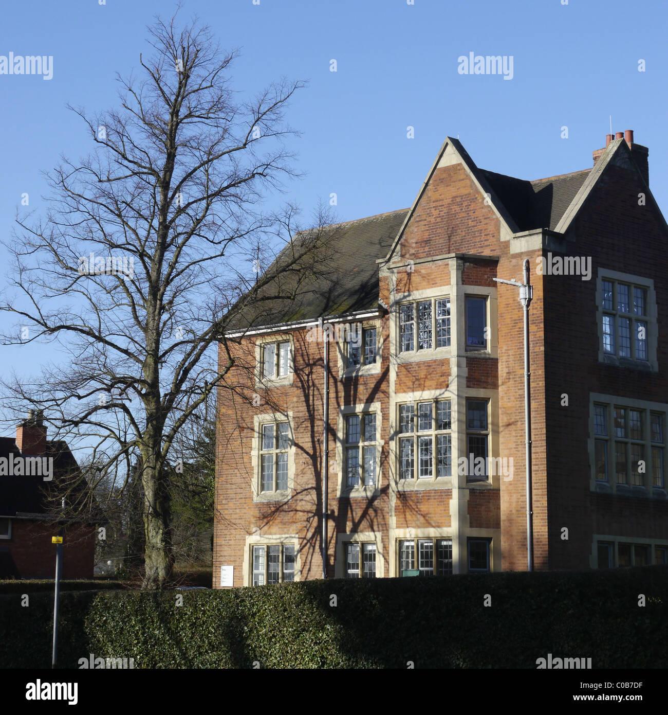 john ruskin house bourneville birmingham - Stock Image