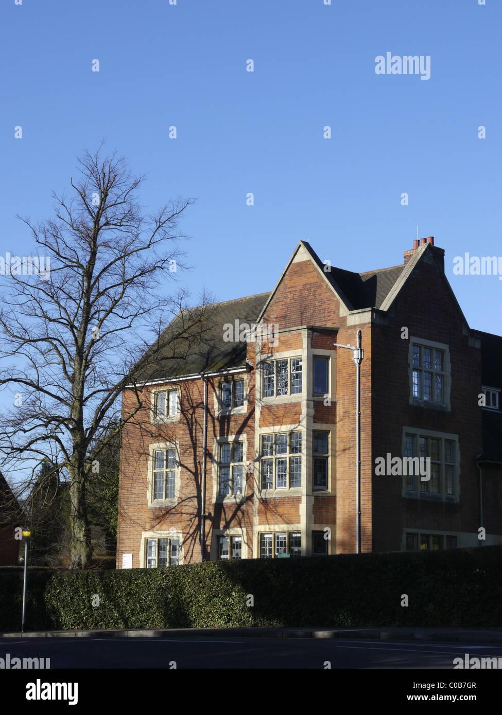 john ruskin house bournville birmingham - Stock Image