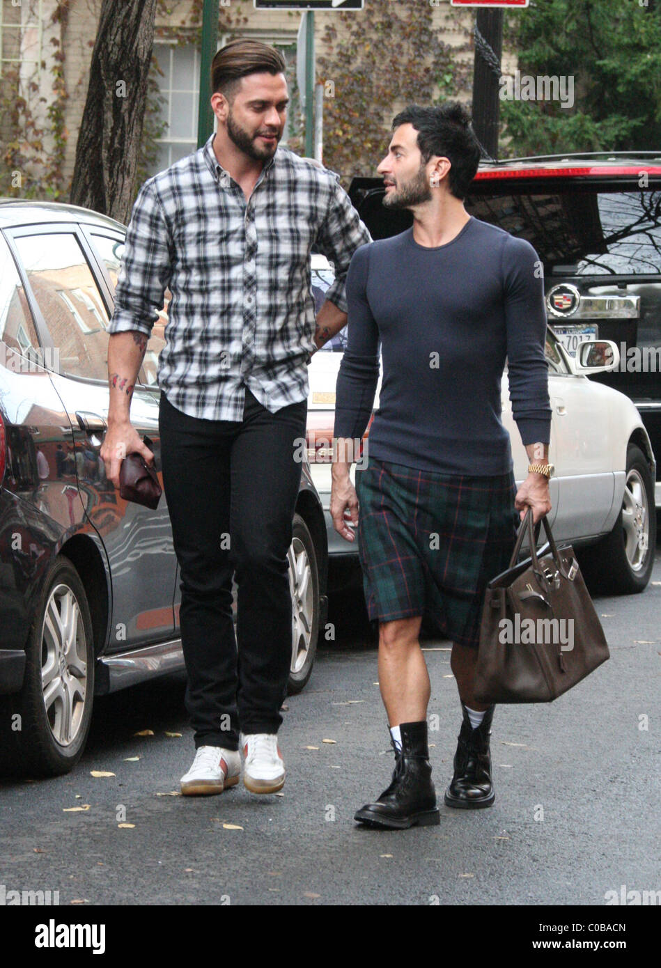 f526674f3cc5 Marc Jacobs and husband Lorenzo Martone out and about in the West Village.  Jacobs was