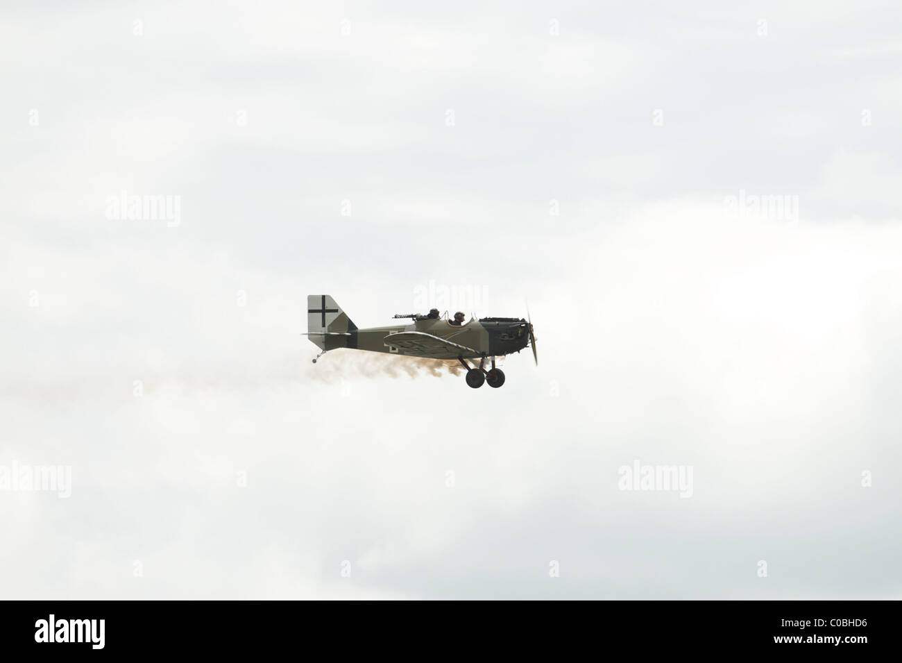 German Historic First World War aircraft at Cosford Air Show 2010 - Stock Image