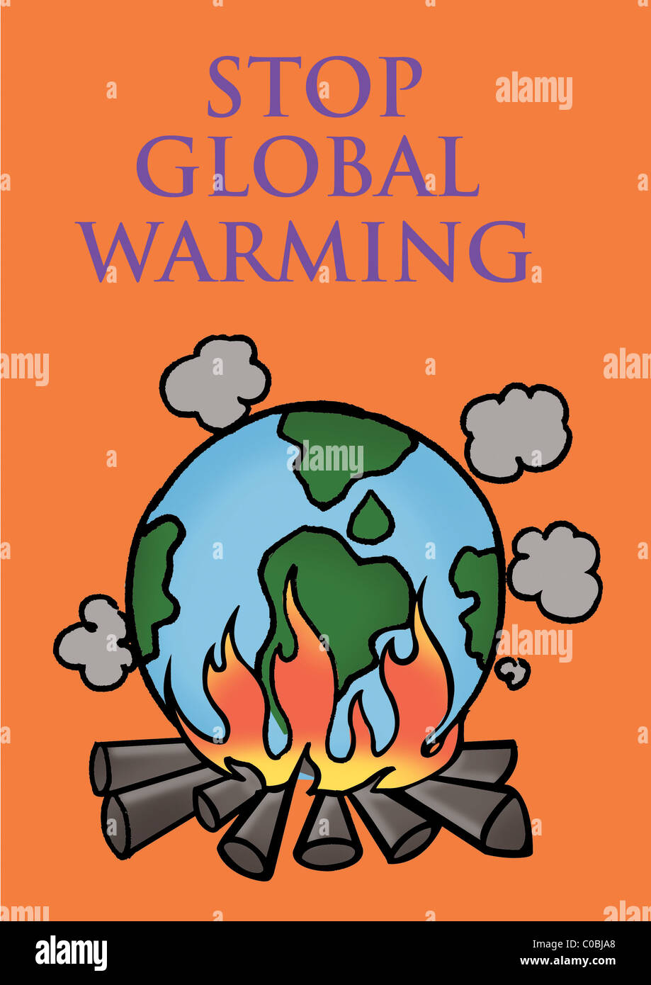 stop global warming stock photo: 34676608 - alamy