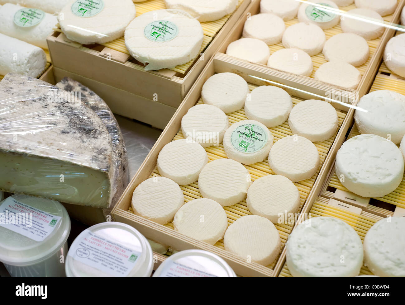 Paris, France -  Fromagerie - Stock Image
