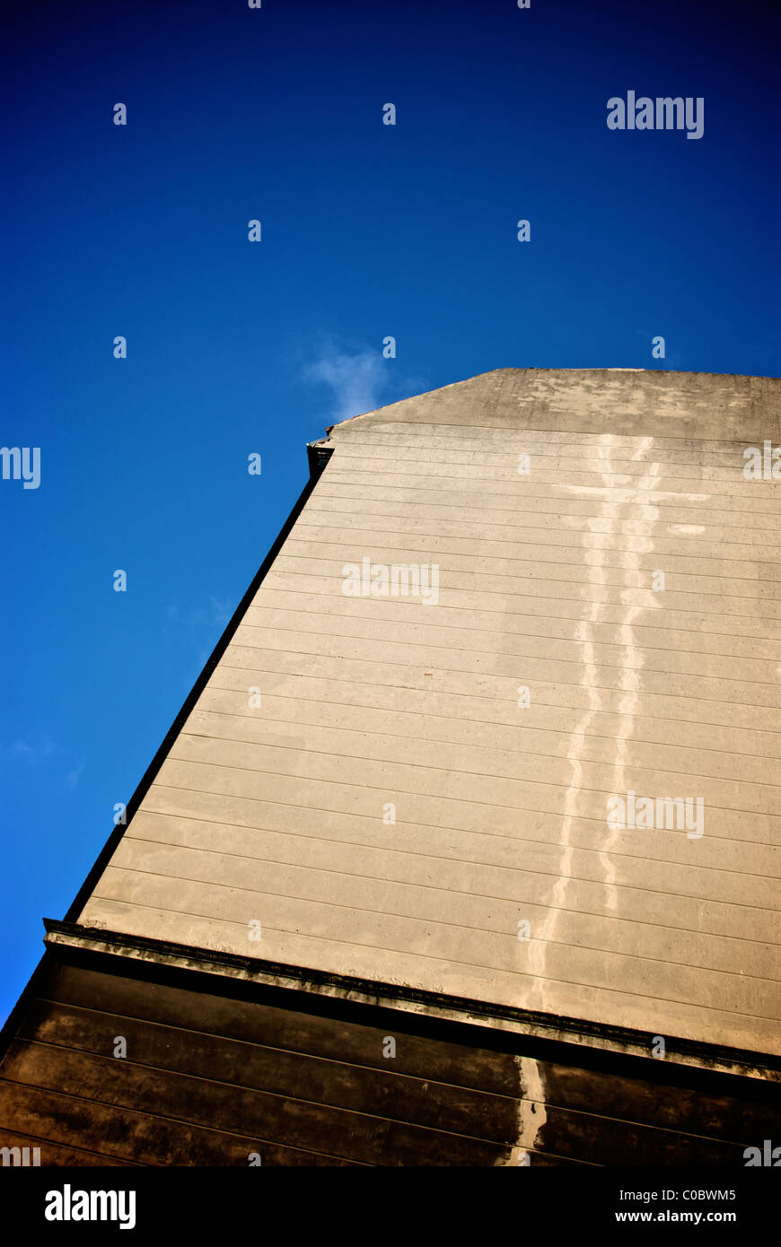 OLD WORN GABLE - Stock Image