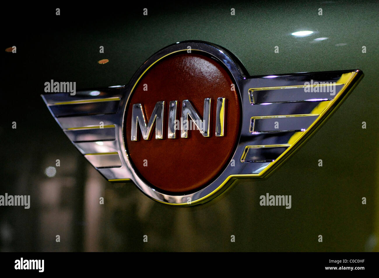 Bmw Mini Car Badge Stock Photos Bmw Mini Car Badge Stock Images