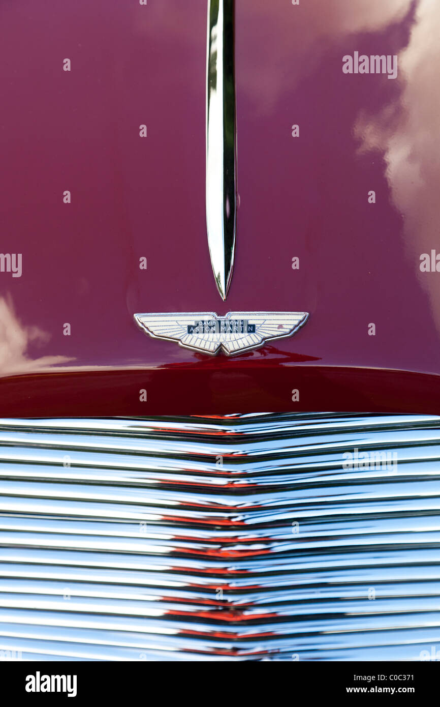 Aston Martin badge - Stock Image