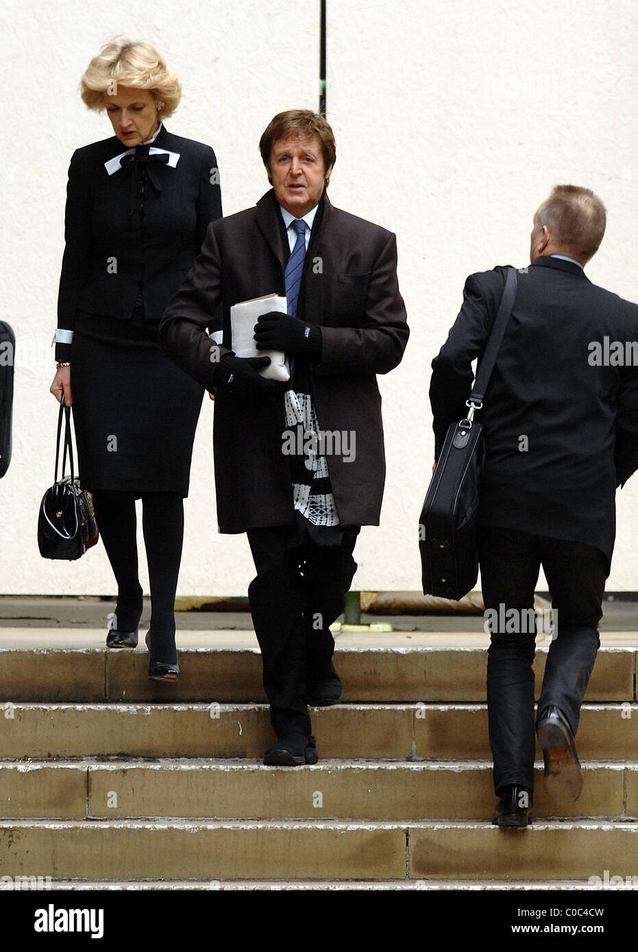 Sir Paul McCartney At The Royal Courts Of Justice On Last Day His Divorce