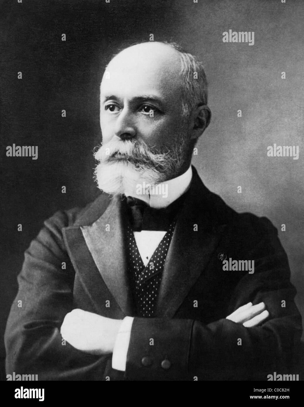 French physicist Henri Becquerel (1852 - 1908) - joint winner of 1903 Nobel Prize in Physics for his discovery of - Stock Image