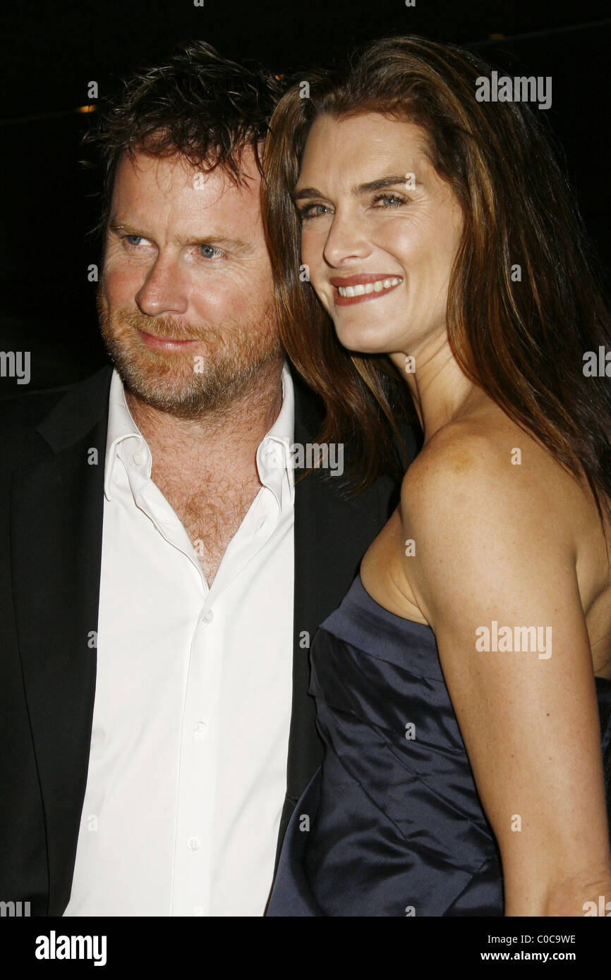 ecd8c4a715e5 Chris Henchy and Brooke Shields Prada Los Angeles Host Private Screening of  new animated short film  Trembled Blossoms  held at