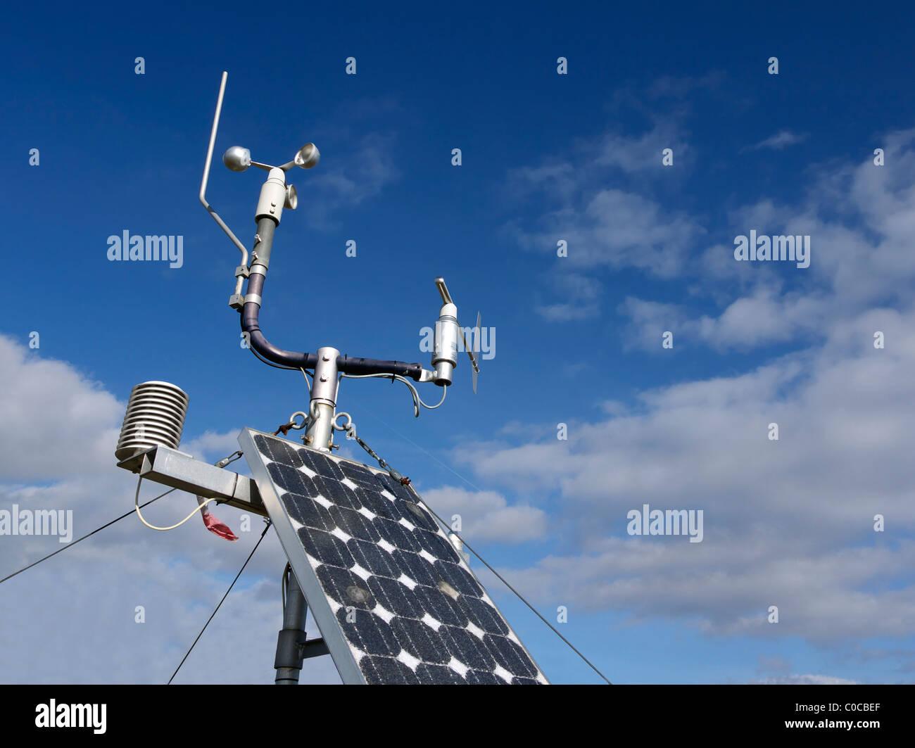 radio controlled weather station - Stock Image