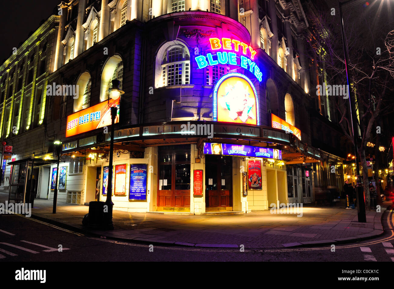 Novello Theatre In Aldwych London