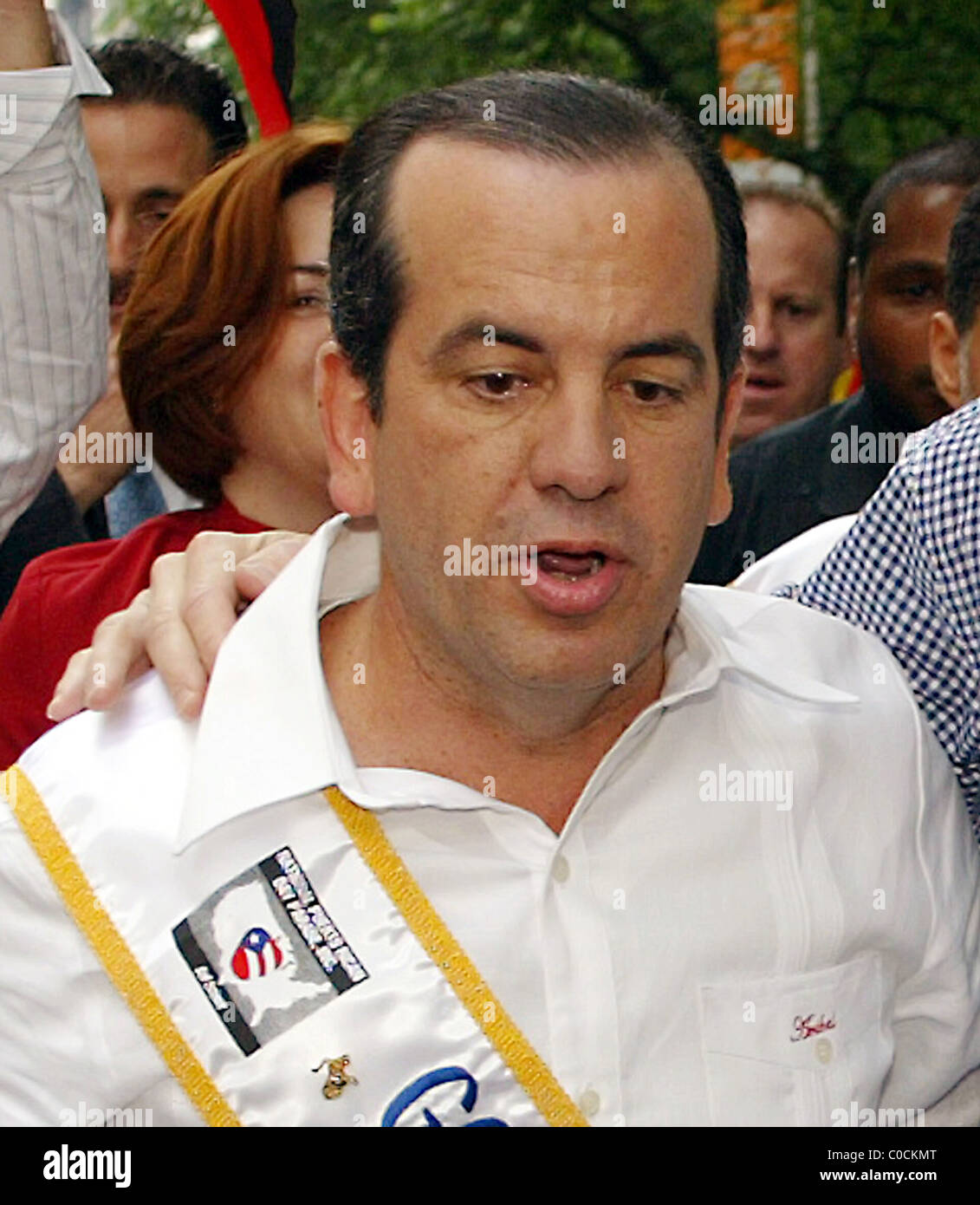 Anibal Acevedo Vila At The 50th Annual Puerto Rican Day Parade New