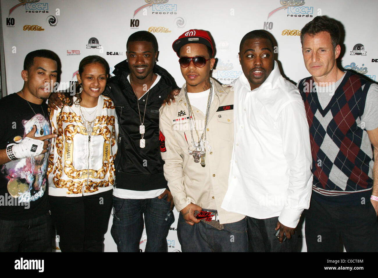 Casley, Asanti Das, Ray J, Yung Berg, Eric Nicks and Guest R&B Live  Presents Ray J at the Spotlight Live, Times Square -