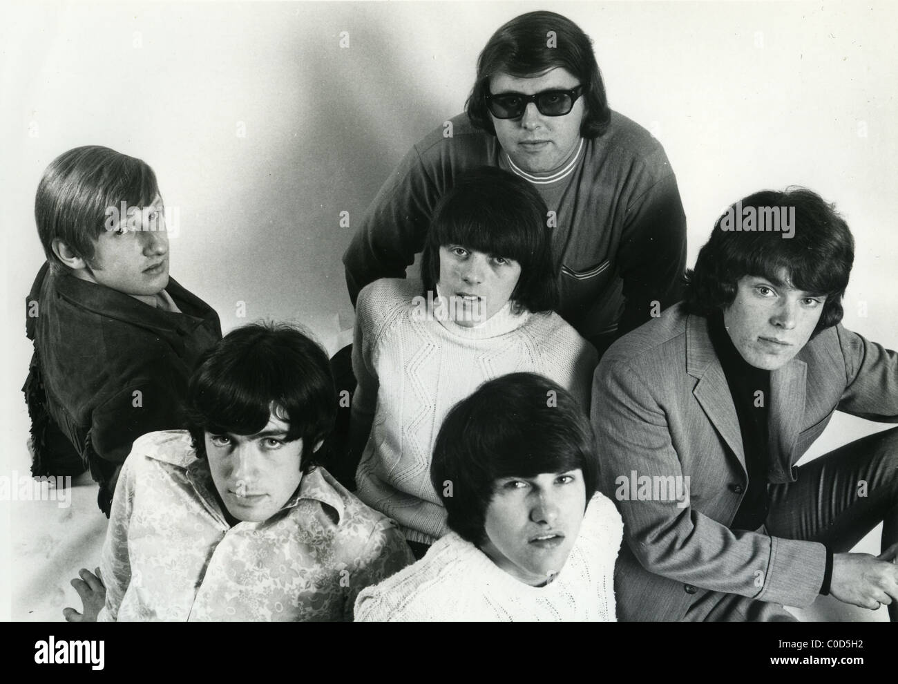 TONY RIVERS AND THE CASTAWAYS  Promotional photo of 60s UK pop group - Stock Image