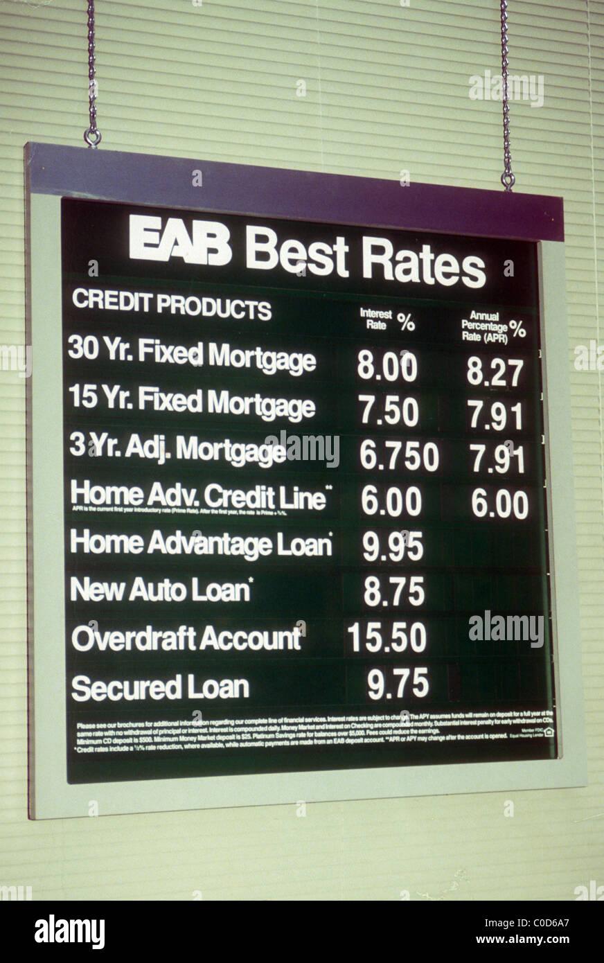 European American Bank Eab Loan Interest Rates Seen In New York In