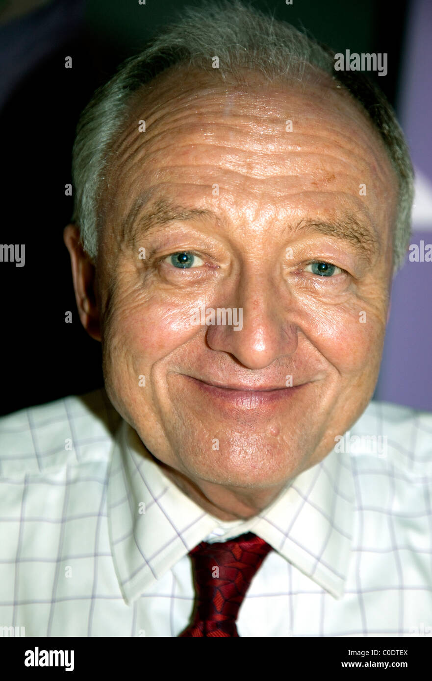 Ken Livingstone at There Is An Alternative conference, London - Stock Image