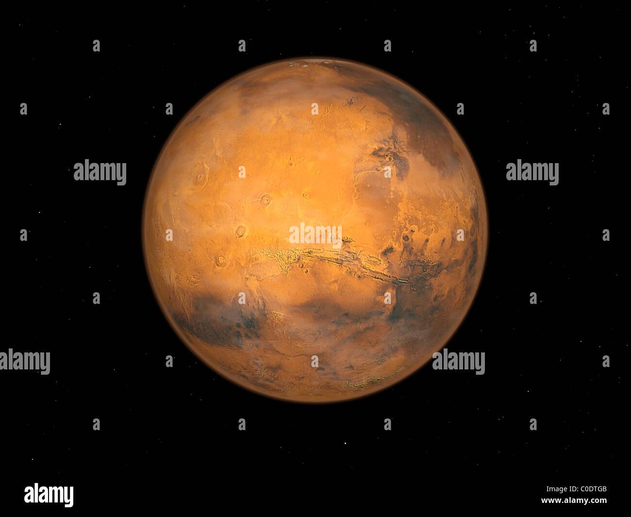 Planet Mars - Stock Image
