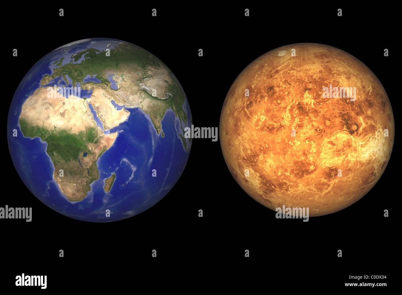 Solar System Map Stock Photos & Solar System Map Stock ...