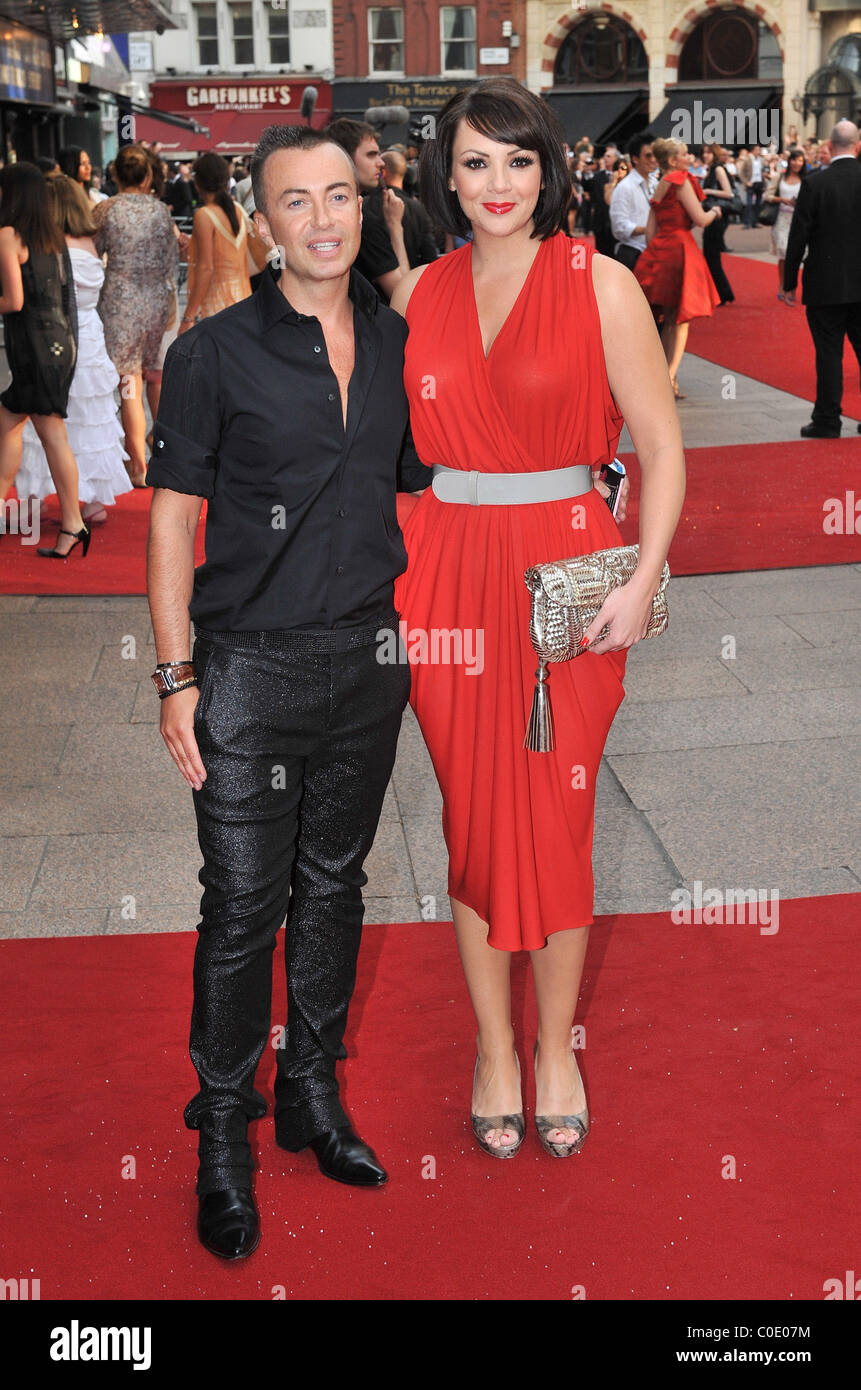 Julien Mcdonald And Martine Mccutcheon Uk Film Premiere Of Sex And The City At Odeon Leicester Square Arrivals London