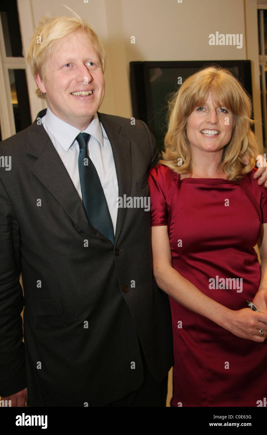 Rachel Johnson and Boris Johns...