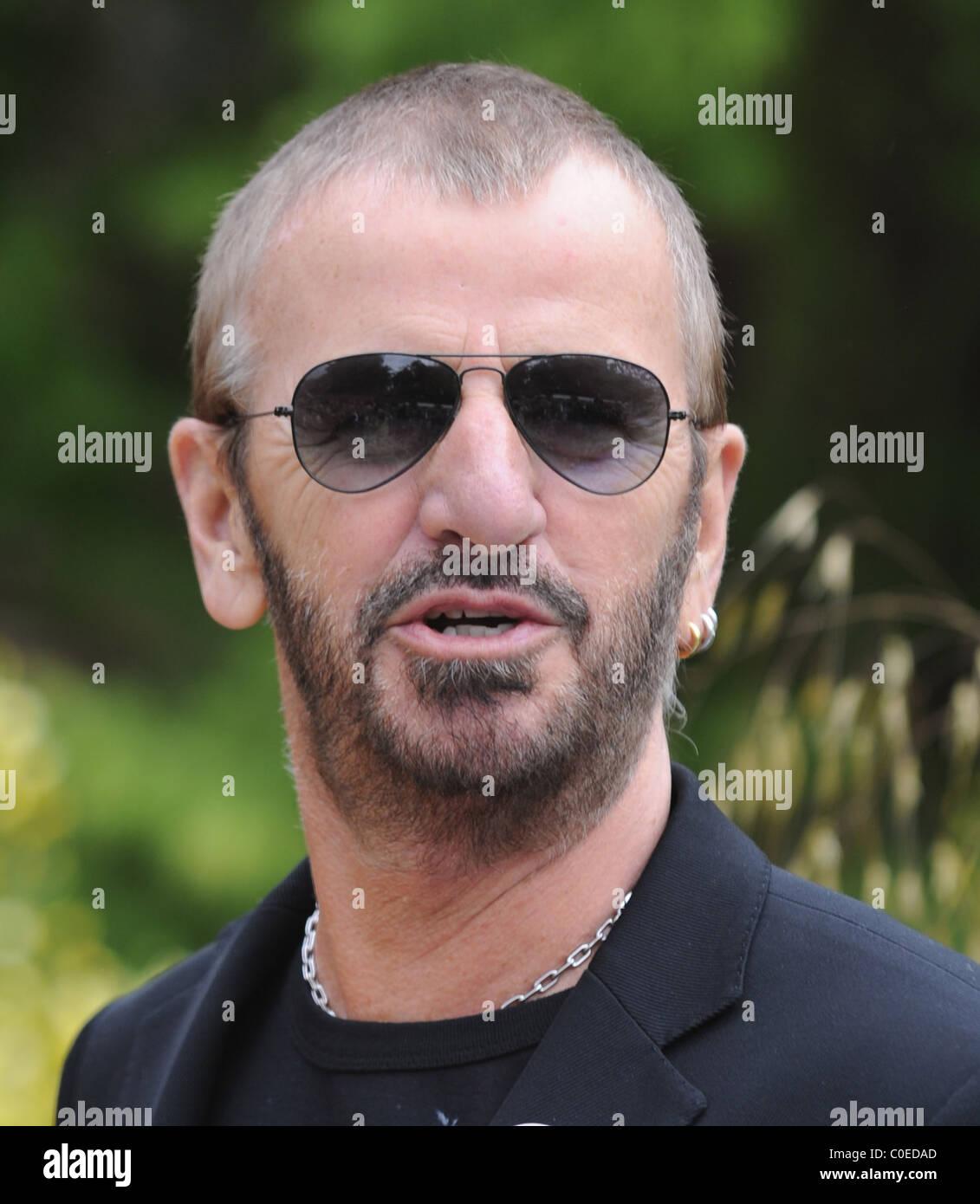 Ringo Starr at Chelsea Flower Show London,England - 19.05.08 - Stock Image