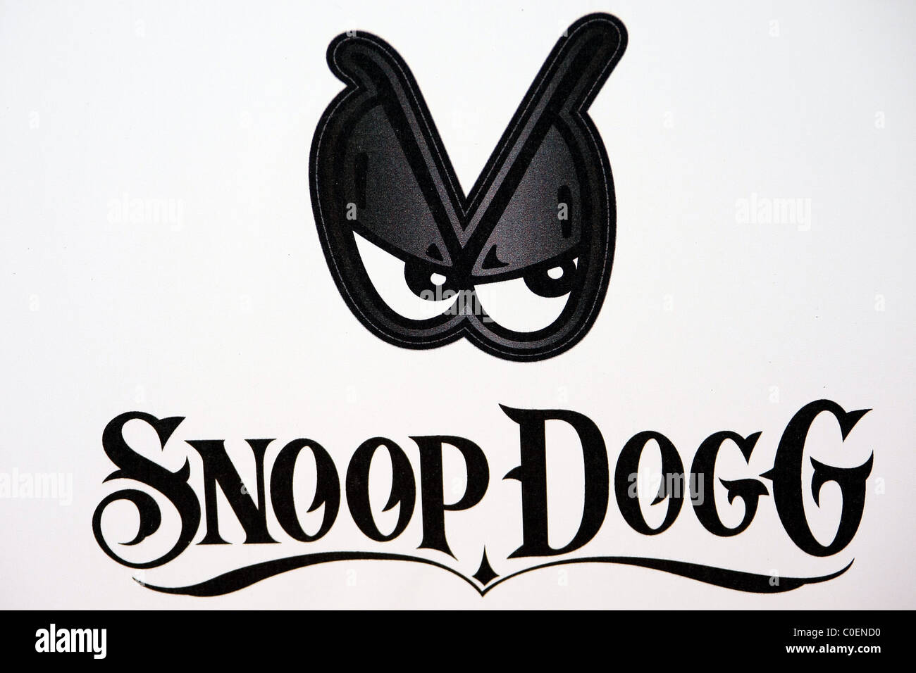 SNOOP DOGG LOGO ADIDAS AND SNOOP DOGG CO HOST ALLSTAR WEEKEND PARTY DOWNTOWN LOS ANGELES CALIFORNIA USA 19 February Stock Photo