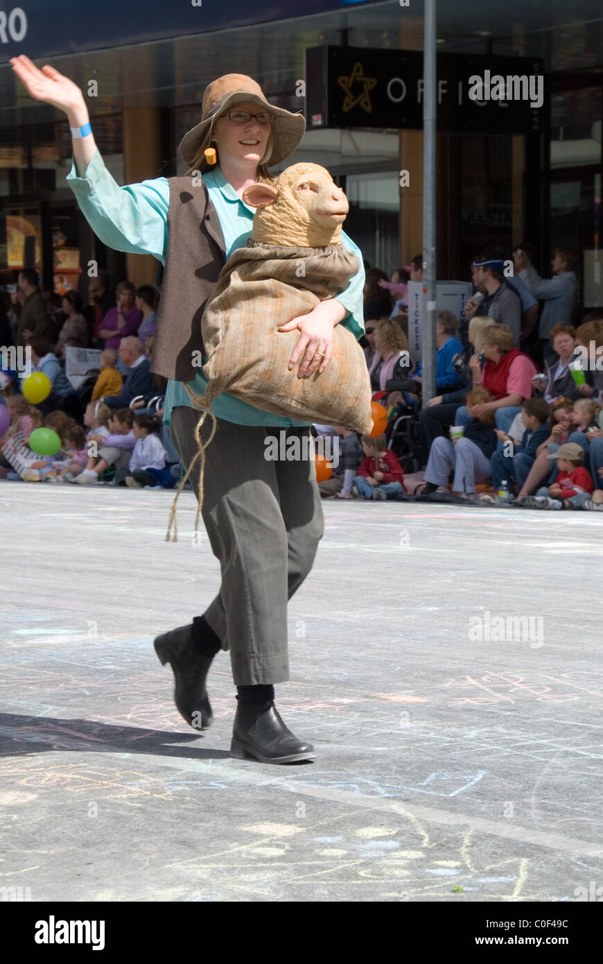 Jolly swagman in the Credit Union Christmas Pageant through the streets of  Adelaide cc69bec25ce7