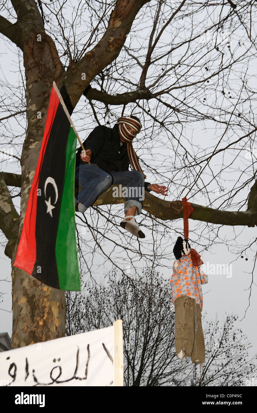 Effigy Trees 20th Anniversary >> Dictatorship In Libya Stock Photos Dictatorship In Libya Stock