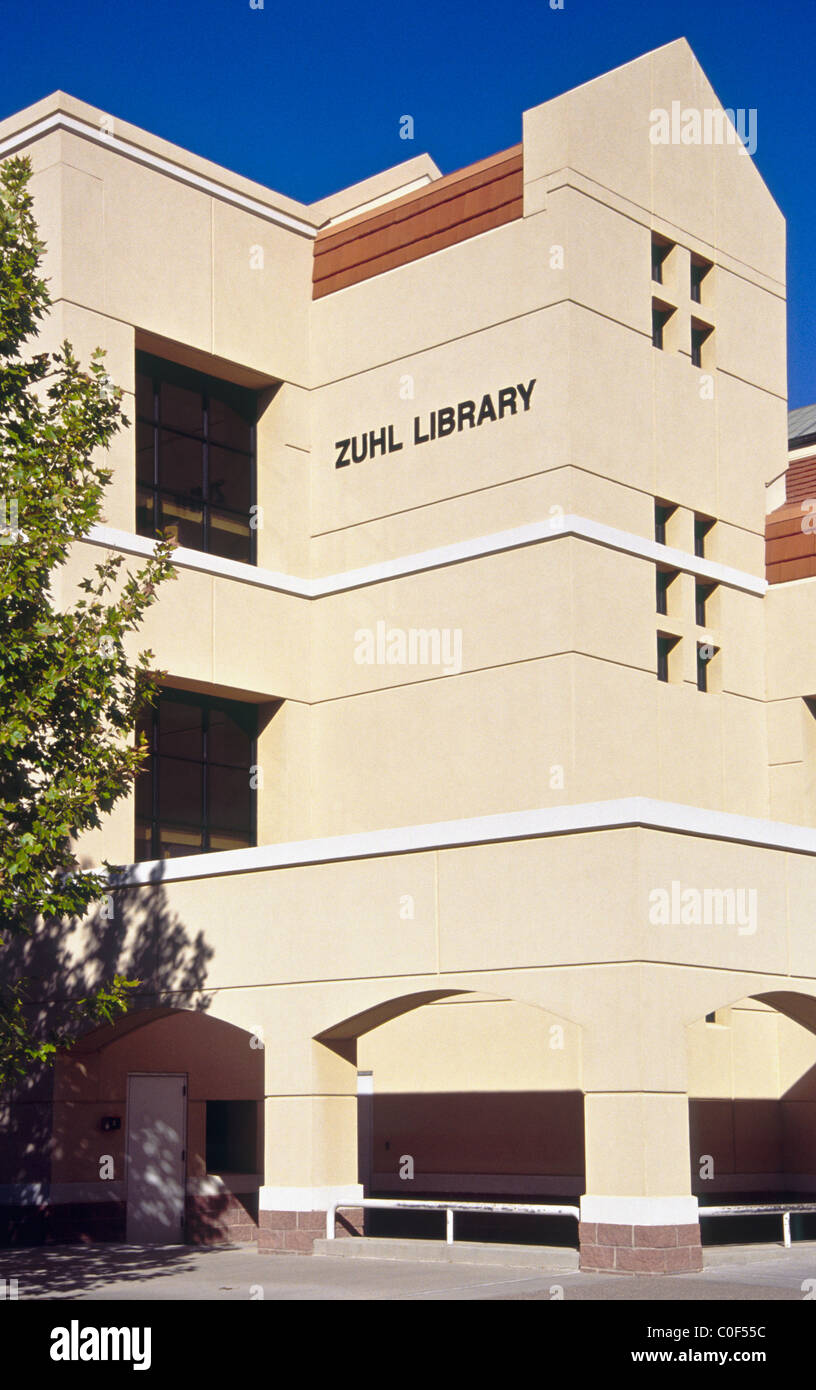 Zuhl Library On The Campus Of New Mexico State University In Las Stock Photo Alamy