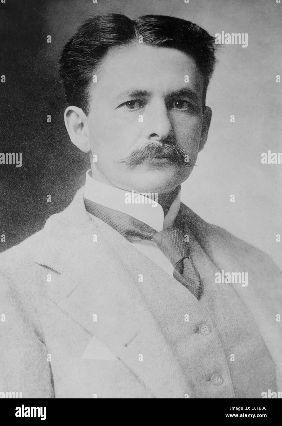 US physicist Albert Michelson (1852 - 1931) - winner of the 1907 Nobel Physics Prize and famed for measuring the - Stock Image