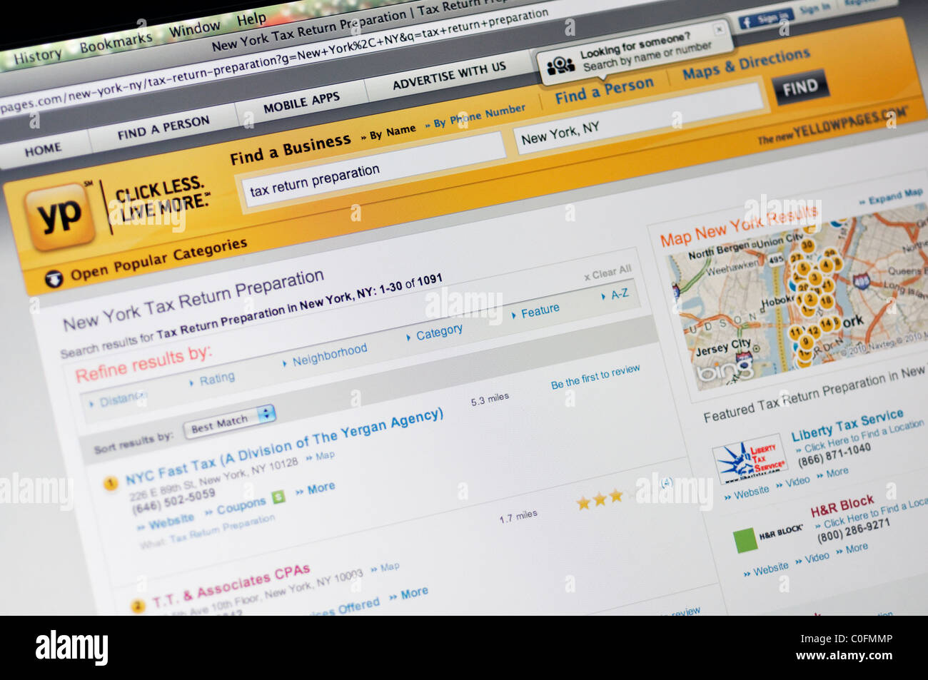 Yellow Pages phonebook website Stock Photo: 34766278 - Alamy on transportation maps, zip codes maps, home maps, google maps, weather maps, al maps, advertising maps, networking maps, social media maps, driving directions maps, maps maps, travel maps, education maps,
