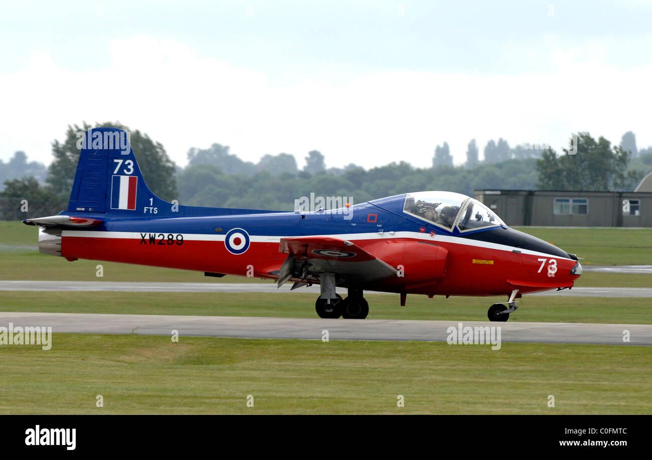 Jet Provost, British jet-powered trainer aircraft - Stock Image