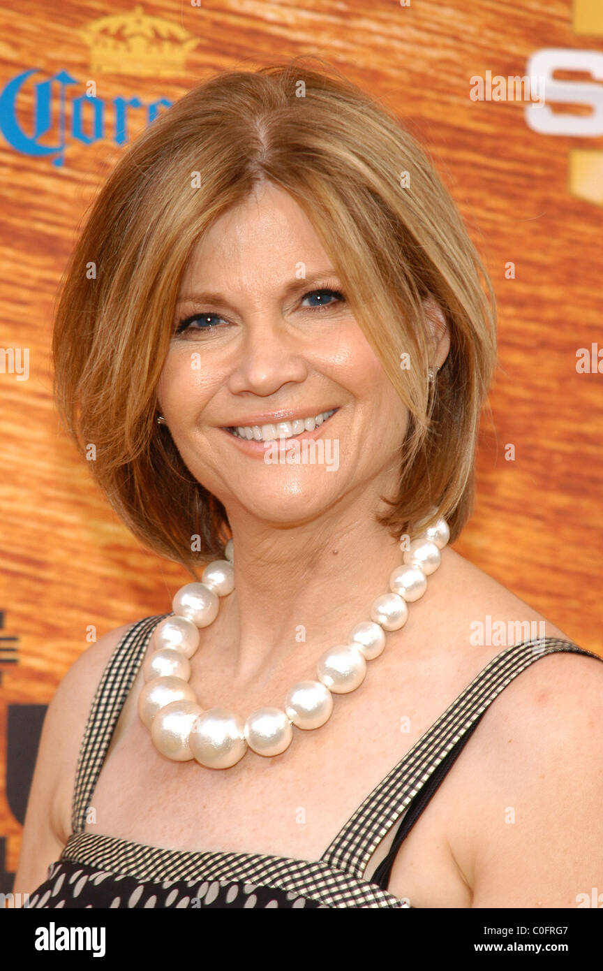 Markie Post Spike TV's 2nd Annual 'Guy's Choice' awards held at Sony Studios Los Angeles, California - Stock Image