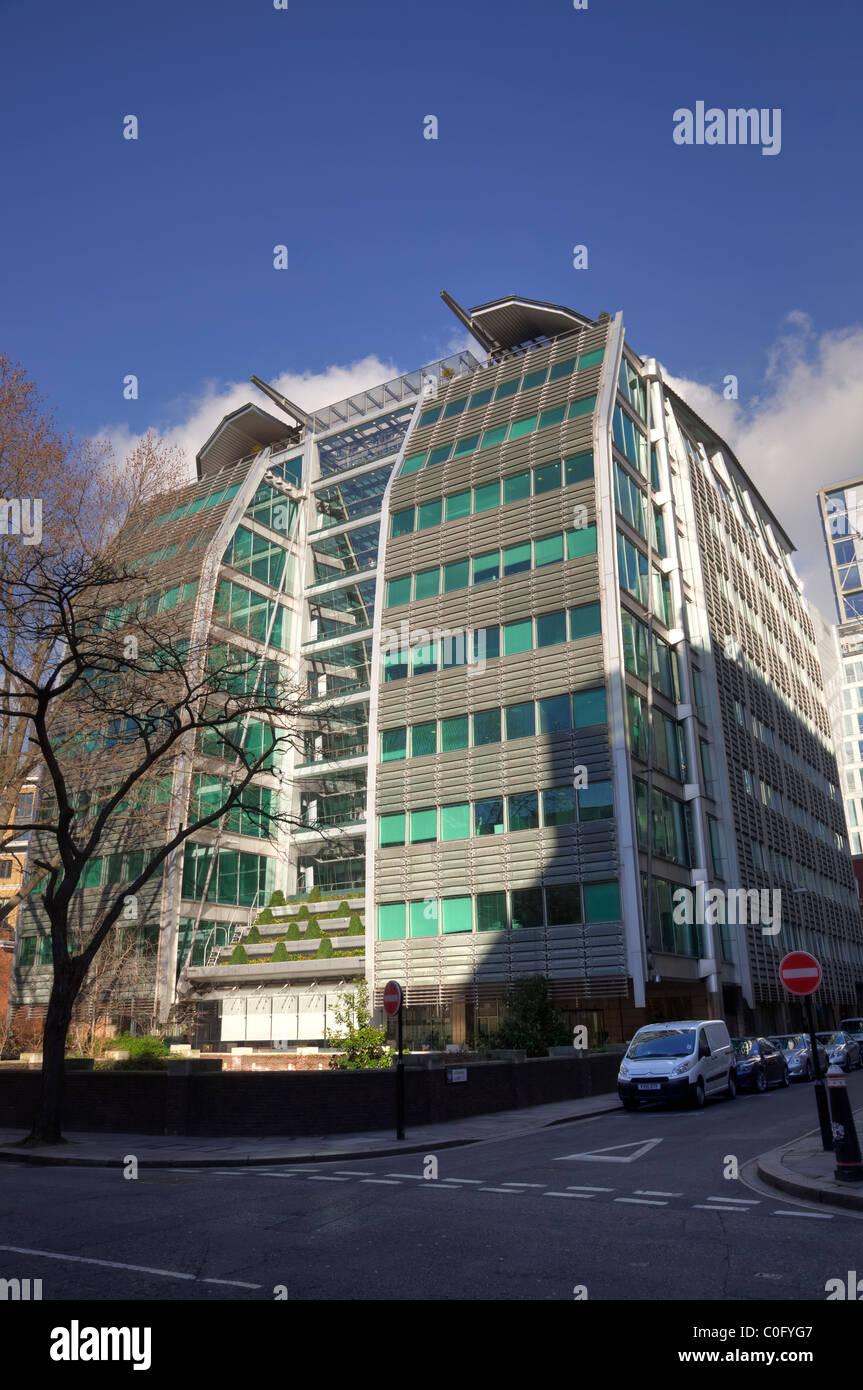Lloyds Banking Group headquarters at 25 Gresham Street London, UK. - Stock Image
