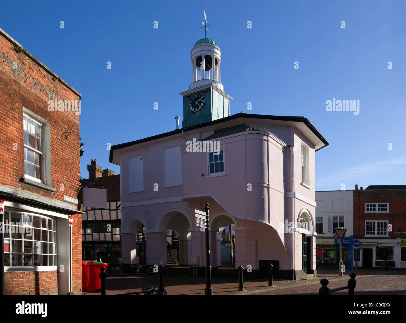 Pepperpot, old town hall, Godalming - Stock Image