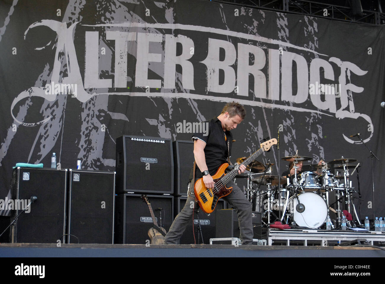 Alter Bridge Download Festival 2008 - Day Two Donington Park Stock