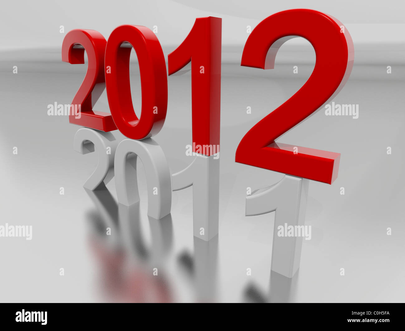 New Year 2012 - Stock Image