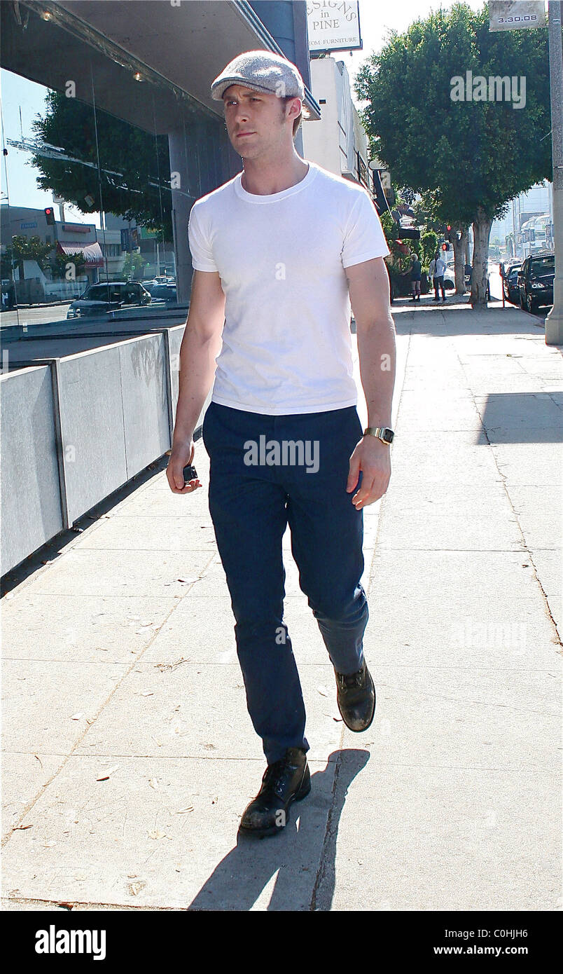 Ryan Gosling Heads To Blueprint Furniture Store In West Hollywood After  Leaving A Hair Salon On Robertson Blvd Los Angeles,