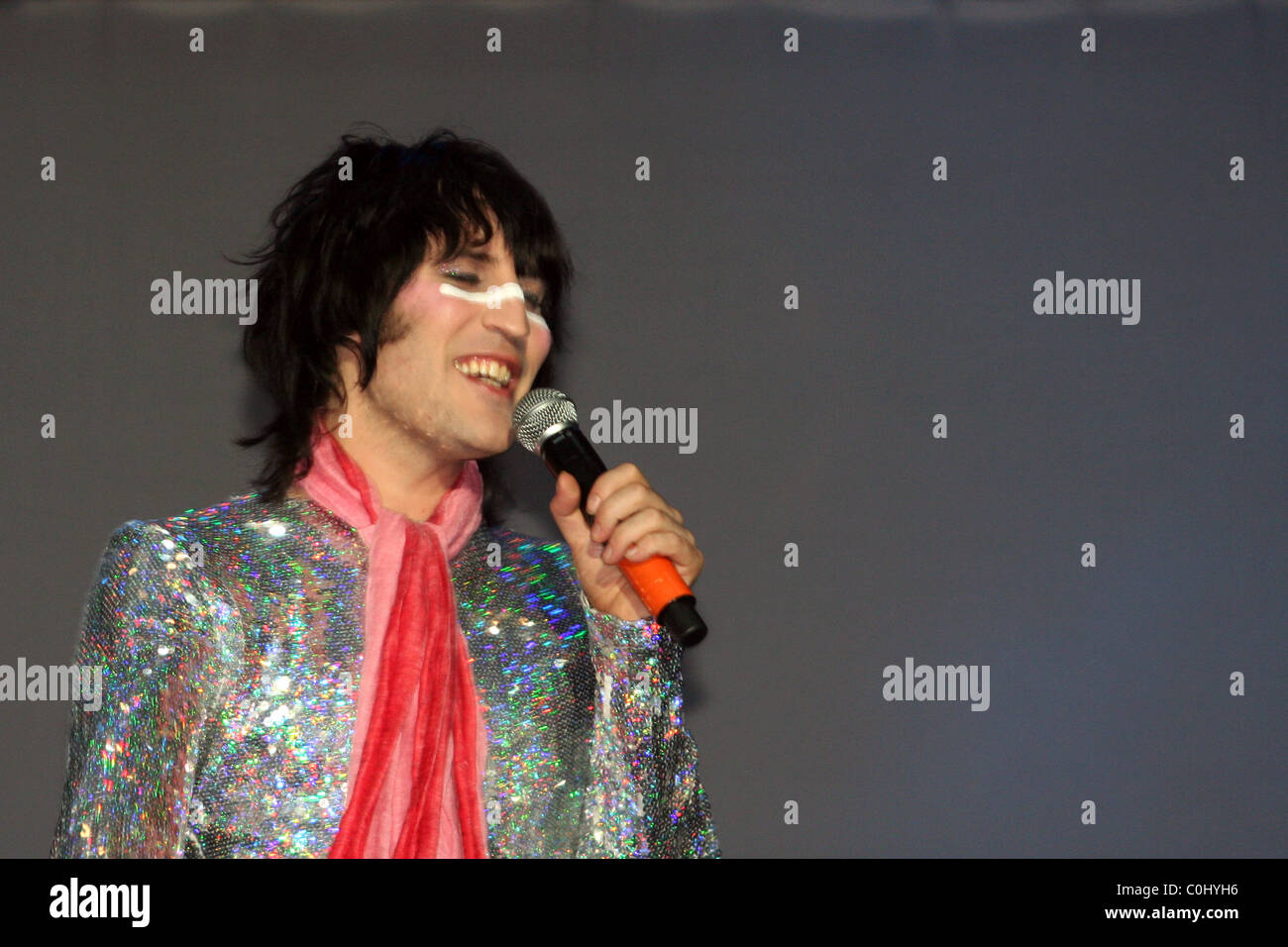 Noel Fielding of The Mighty Boosh at the Mighty Boosh Festival Hop Farm, England - 05.07.08  Kate Davey / - Stock Image