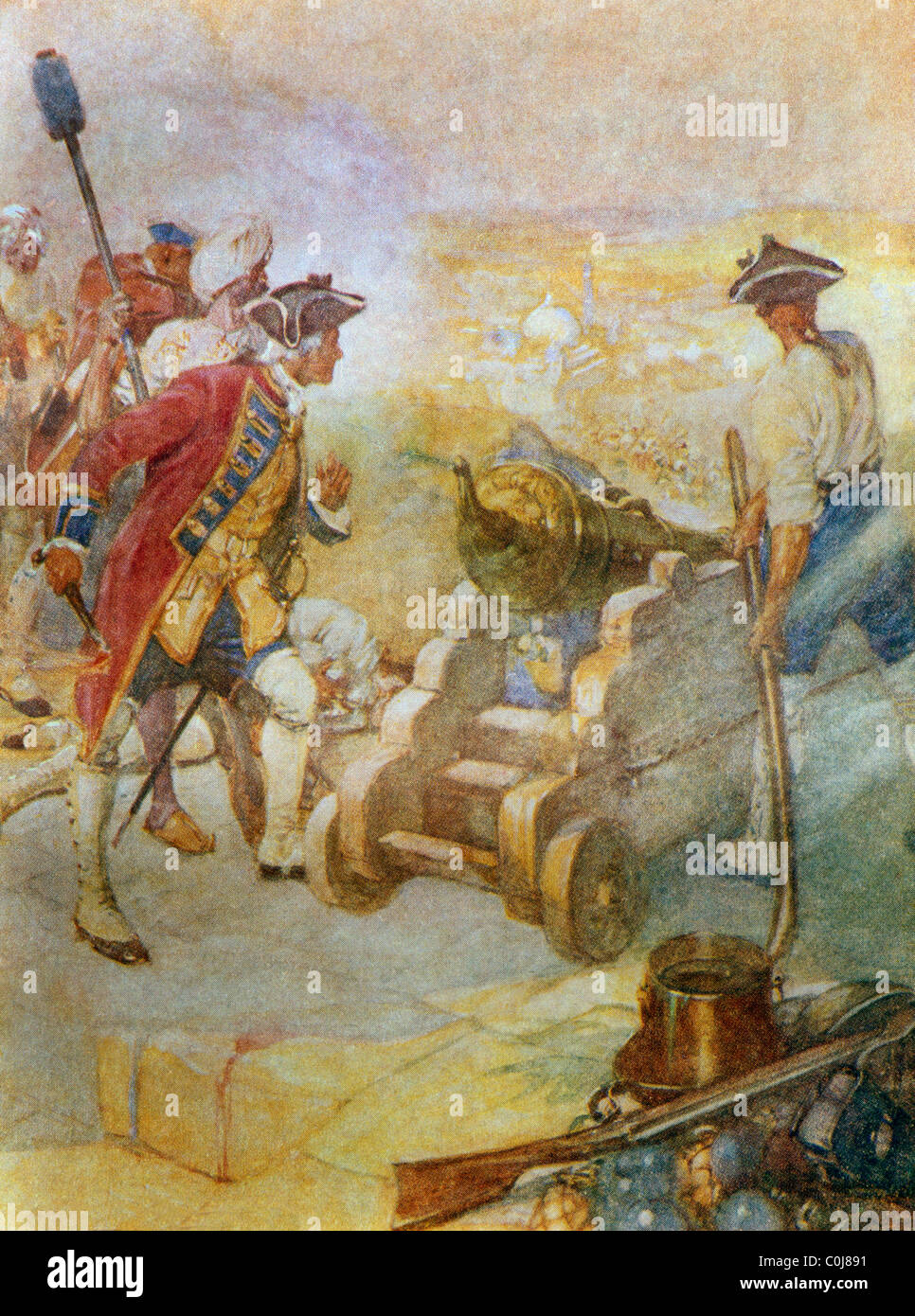 battle of arcot