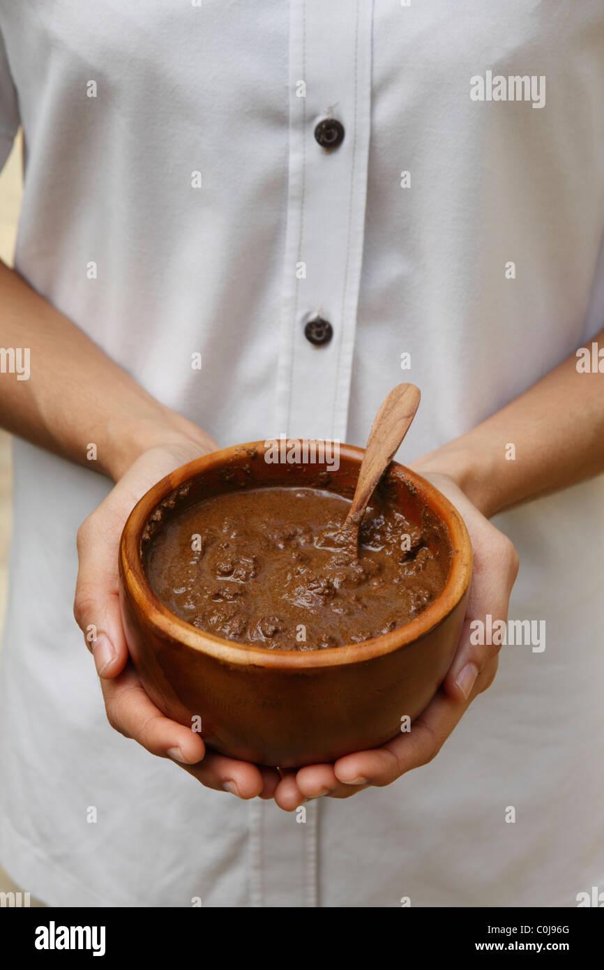 Malay spa treatment - Stock Image