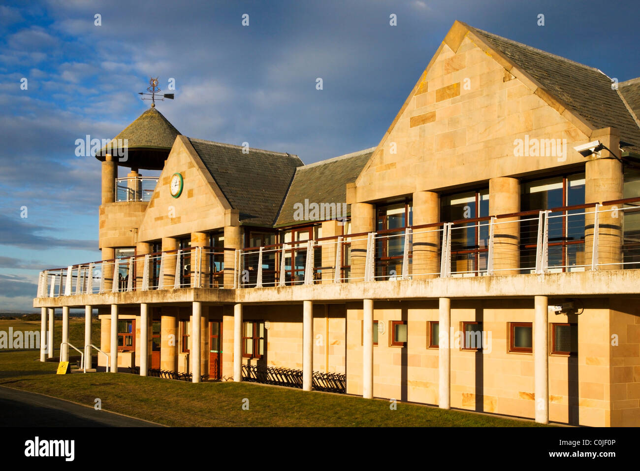 St Andrews Links Clubhouse St Andrews Fife Scotland - Stock Image