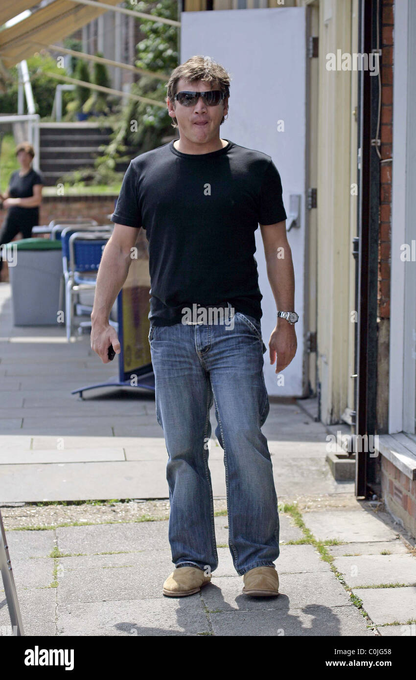 Sid Owen Who Plays Ricky Butcher In Eastenders Arrives At