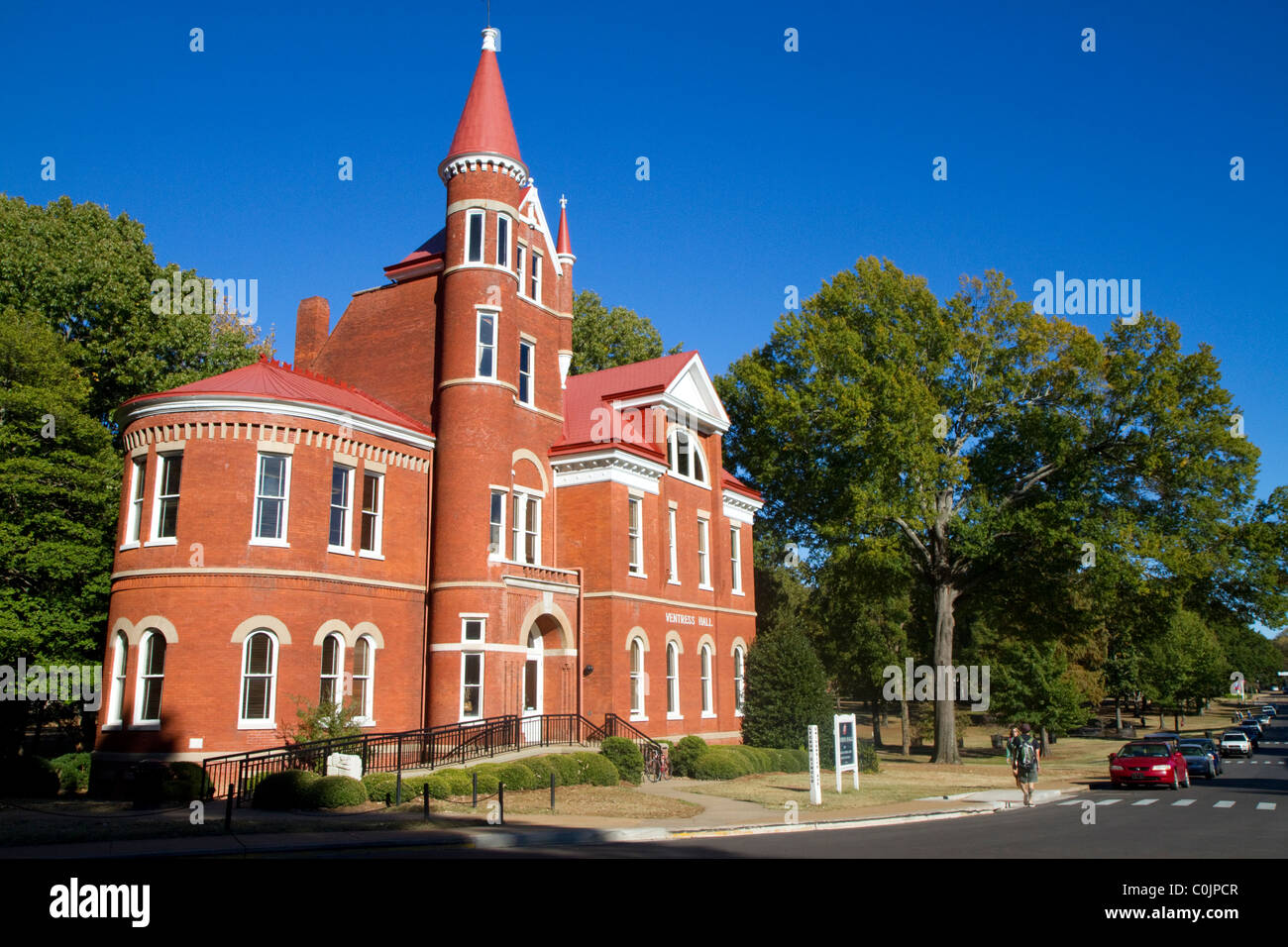 Ventress Hall on the University of Mississippi campus in Oxford, Mississippi, USA. - Stock Image