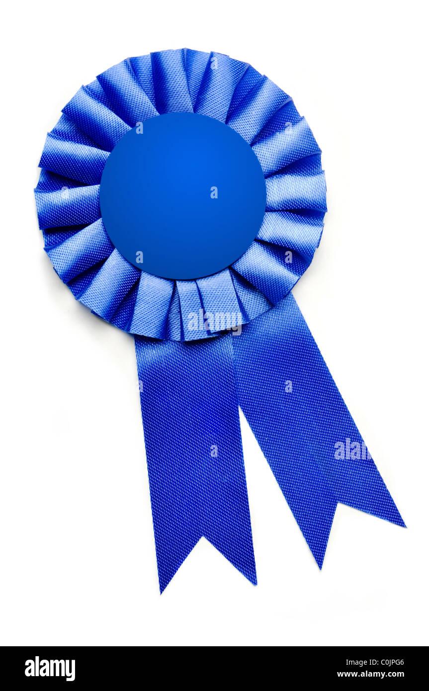 award presentation ribbon on white background Stock Photo