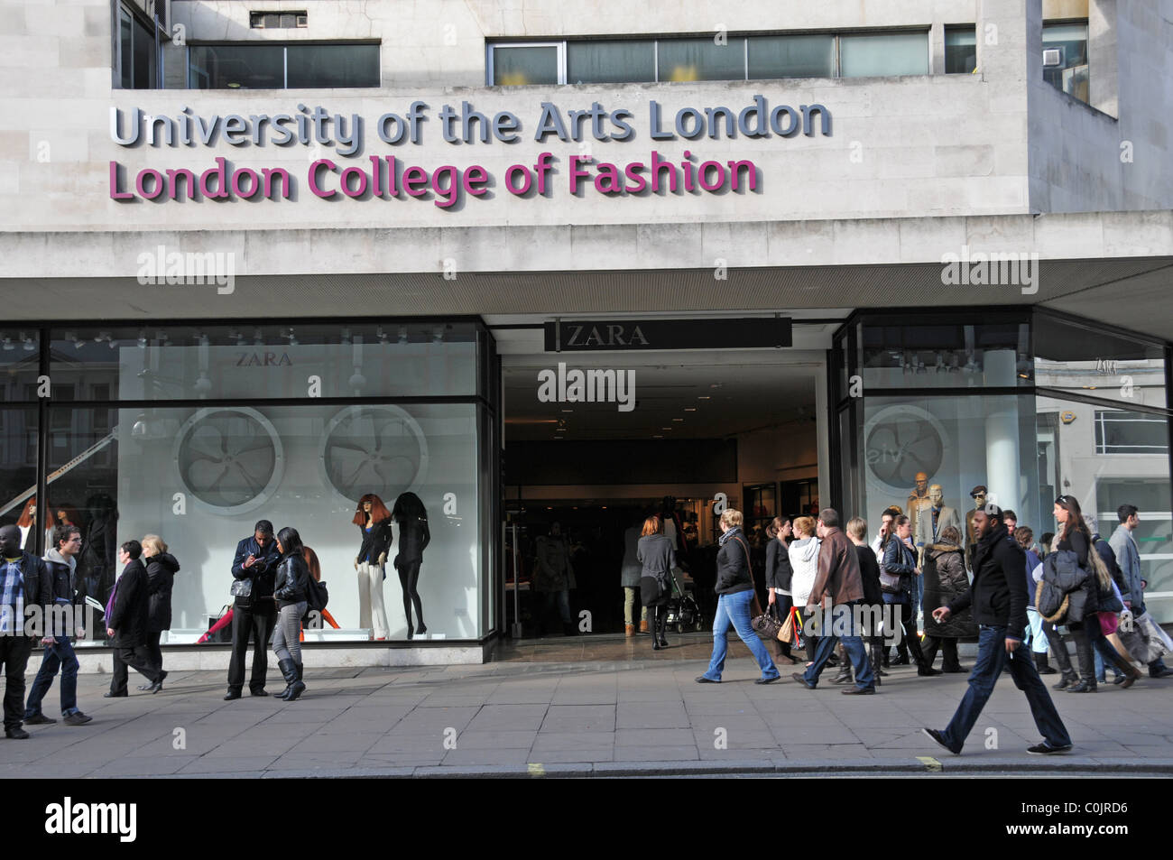 University of the arts london fashion