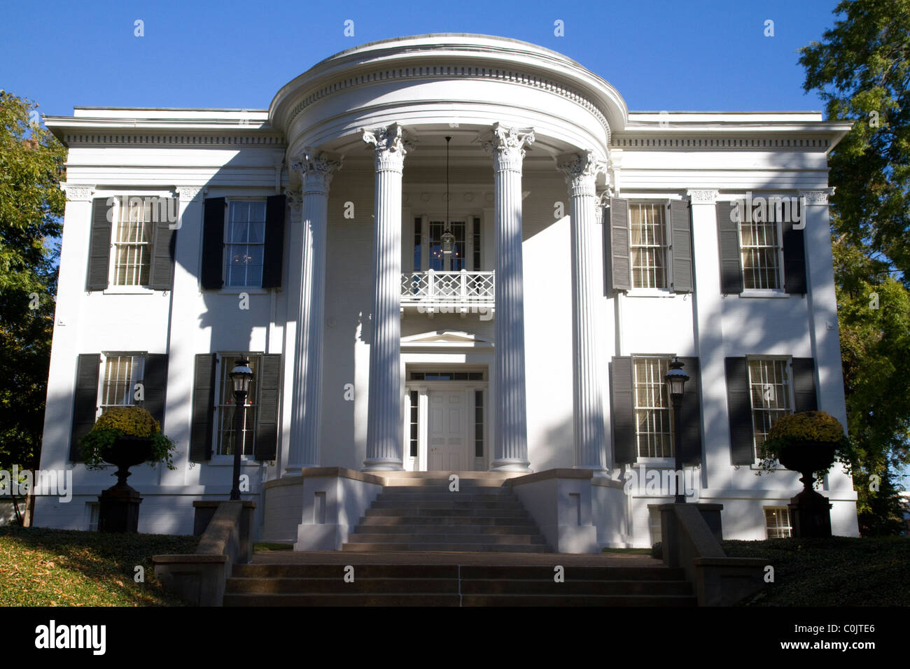 The Mississippi Governor's Mansion in Jackson, Mississippi, USA. - Stock Image