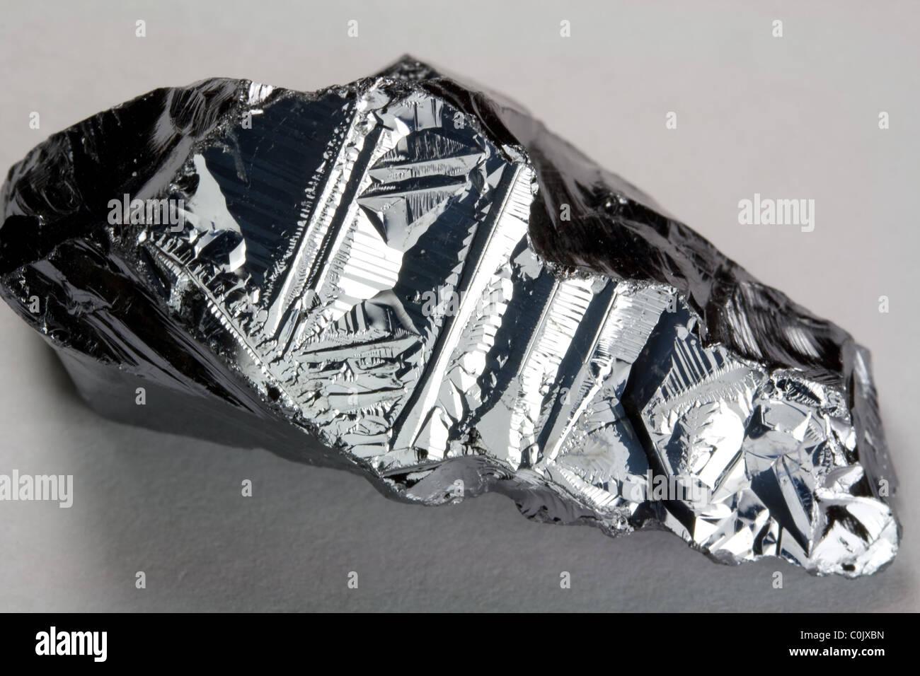 Pure Silicon - Element - Stock Image