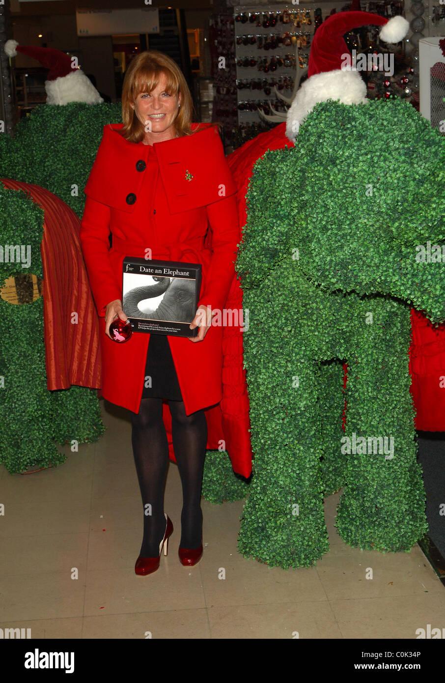 Sarah Ferguson, Duchess of York The launch of Selfridges\' \'Green ...