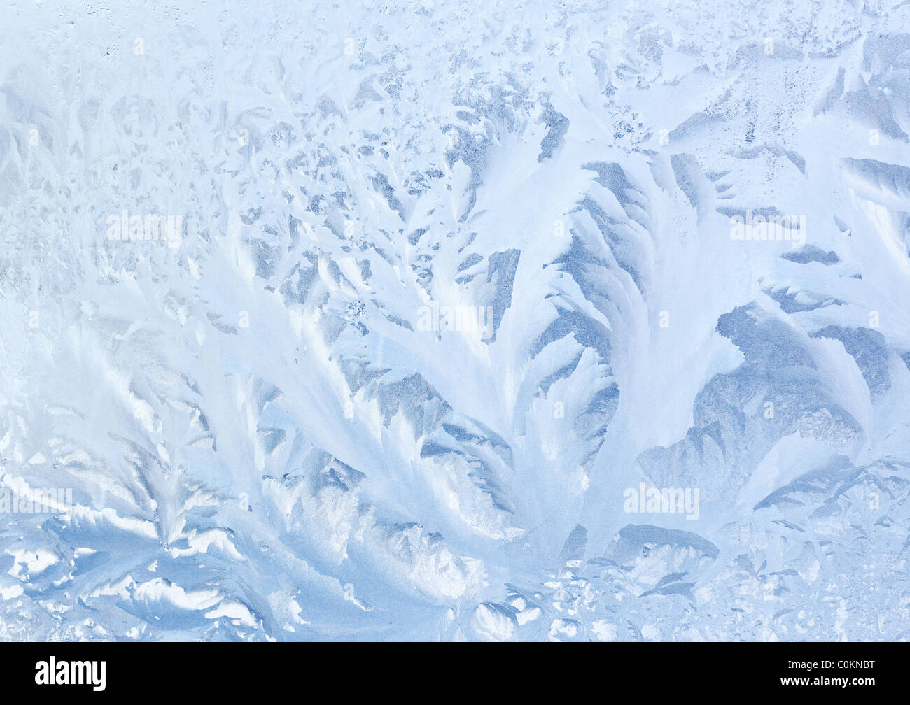 Frozen glass texture or background. - Stock Image
