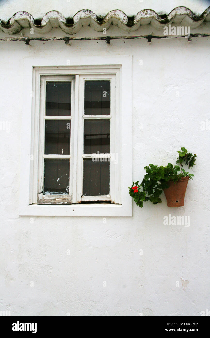 Portuguese window - Stock Image